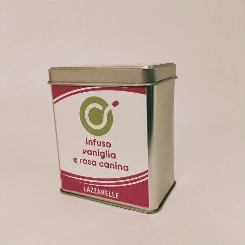 Box infuso vaniglia e rosa canina