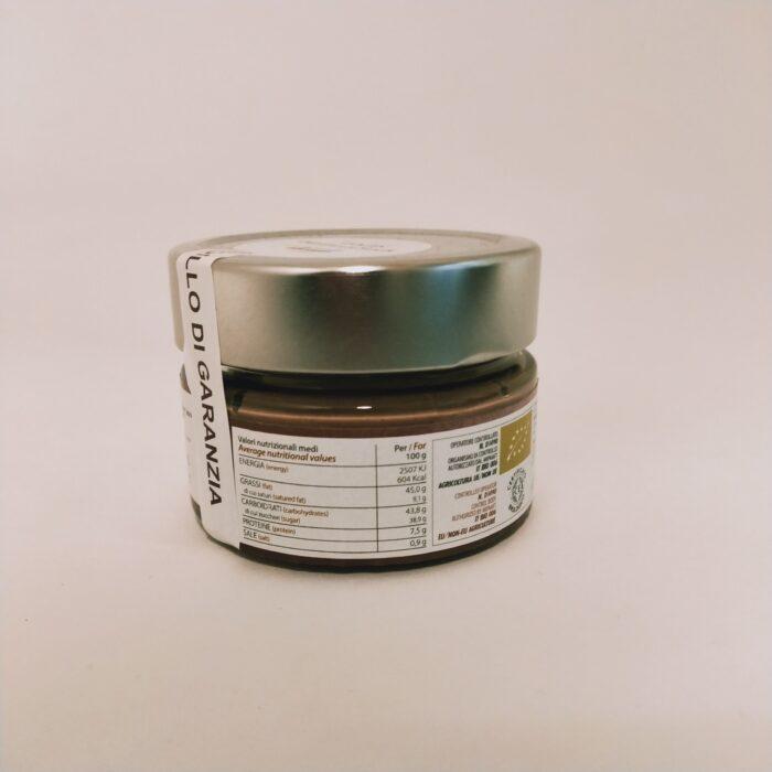 crema di nocciola Biologica retro