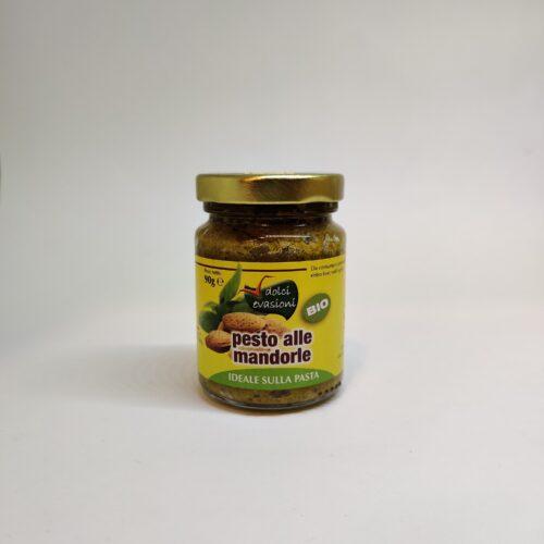 Pesto di mandorle biologico