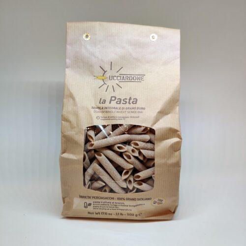 Penne di grano duro Siciliano integrale Perciasacchi