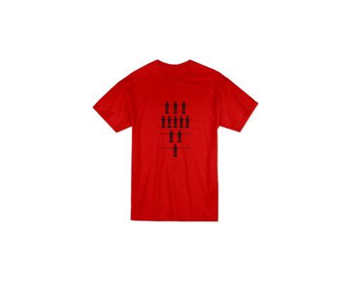 Calciobalilla rosso nera