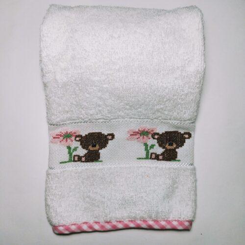 asciugamani orsetto