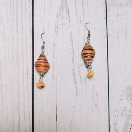 orecchini arancio